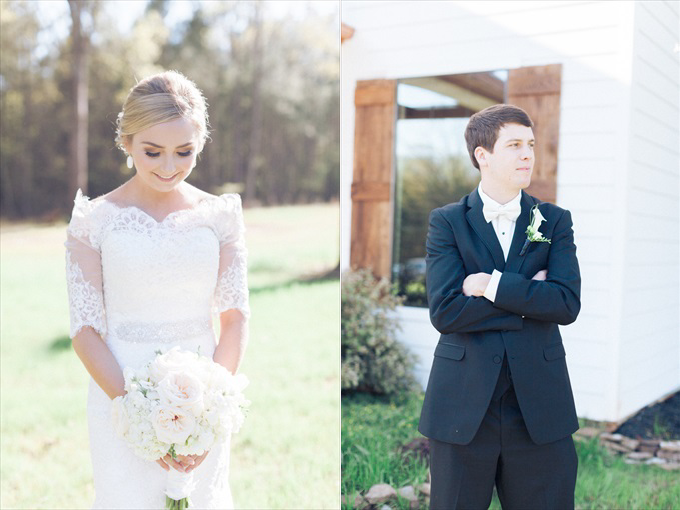 bride groom portraits | A Beautiful Sainte Terre Louisiana Wedding(Real Weddings) | http://www.emmalinebride.com/real-weddings/a-beautiful-sainte-terre-wedding-in-louisiana-real-weddings/ | Photo:  Photography by Micahla Wilson