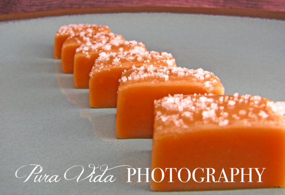 caramel favors - edible wedding favors