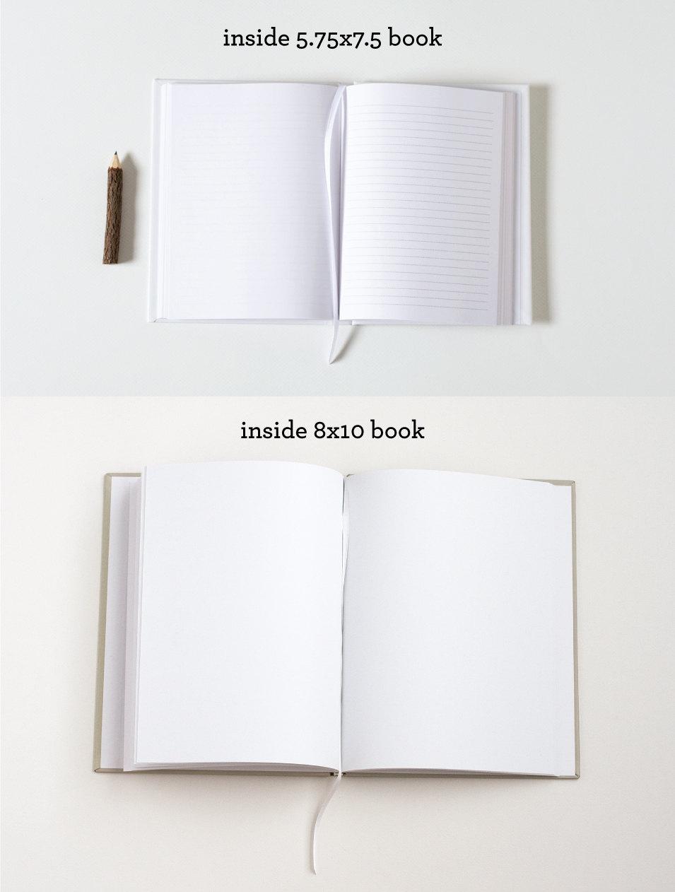 guest book inside