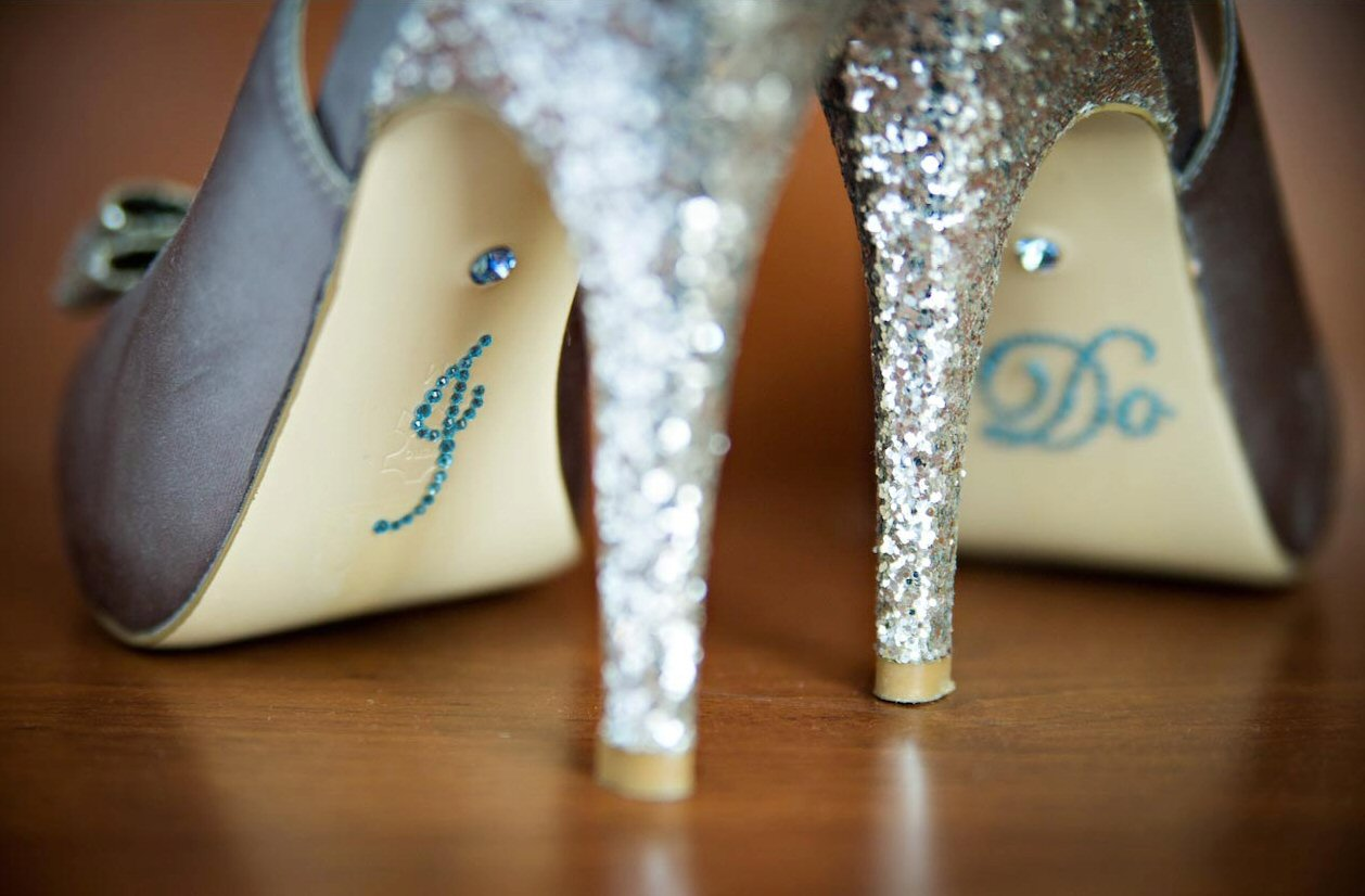 i do blue rhinestone shoe stickers from primandproberb