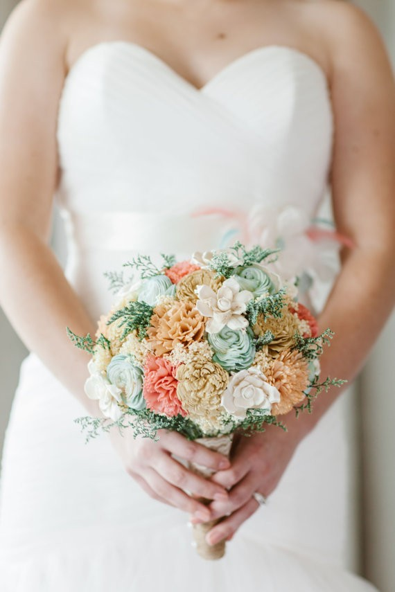 sola flower bouquet by curious floral