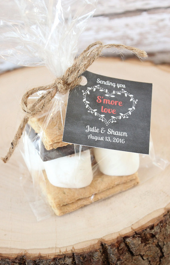 wedding smore favors