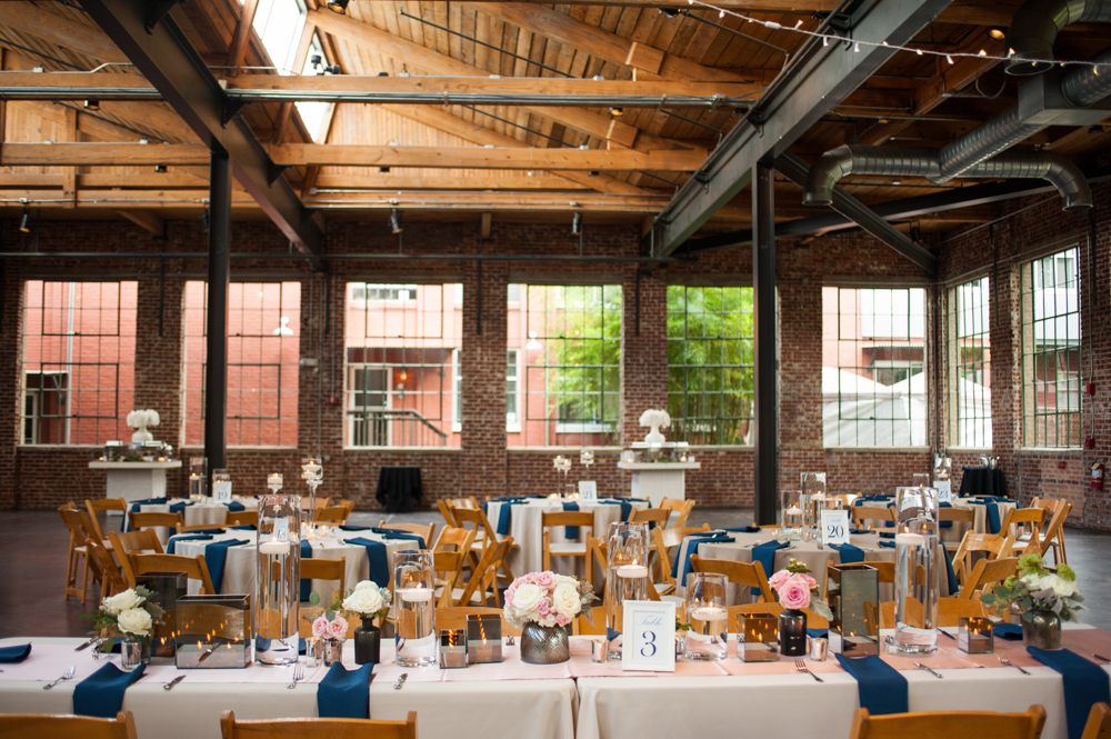 One Pretty Wedding at the Foundry at Puritan Mill (Real Weddings) | Atlanta Georgia foundry mill weddings | http://www.emmalinebride.com/real-weddings/one-pretty-wedding-at-the-foundry-at-puritan-mill-real-weddings/ | Photo: You Are Raven