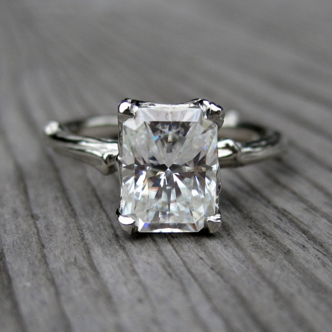 Unique Engagement Rings Etsy | by Kristin Coffin | http://emmalinebride.com/engagement/unique-engagement-rings-etsy/