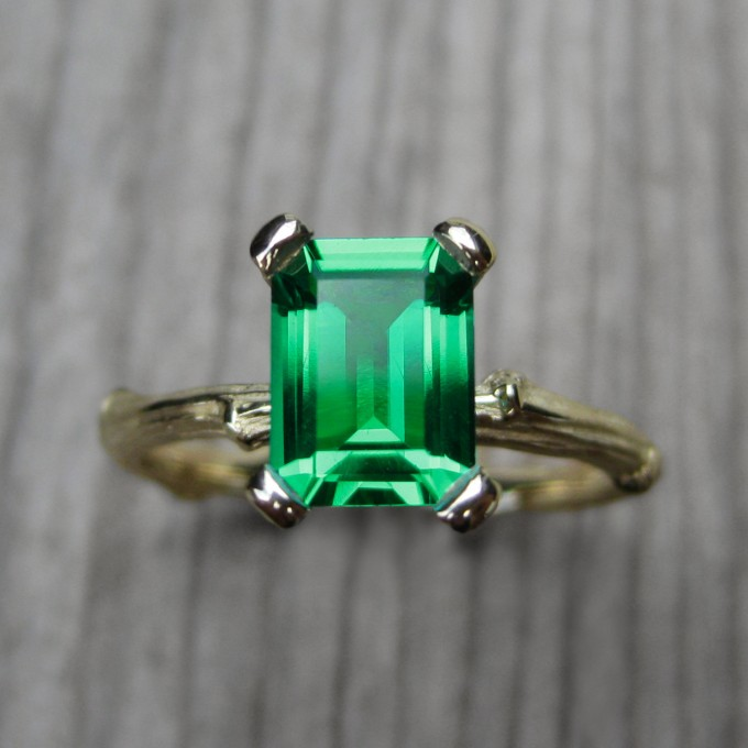 Unique Engagement Rings from Etsy | by Kristin Coffin | http://emmalinebride.com/engagement/unique-engagement-rings-etsy/