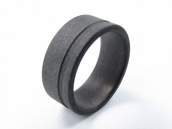 gray oxidized ring