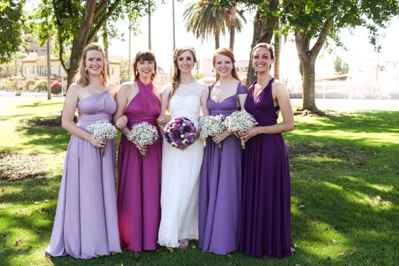 infinity dresses mismatched by coraliebeatrix