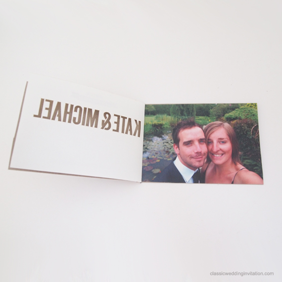 booklet style wedding invitations