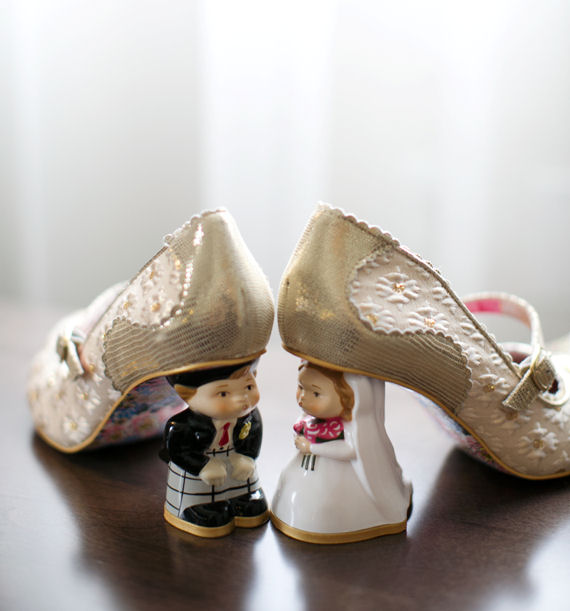 brides wedding shoes A Gorgeous St. Louis Wedding: Rachael + Pawe at the Marriott Renaissance Grand, Saint Louis - http://emmalinebride.com/real-weddings/a-gorgeous-st-louis-wedding-rachael-pawel/ | Missouri wedding photographer - Heather Roth Fine Art Photography