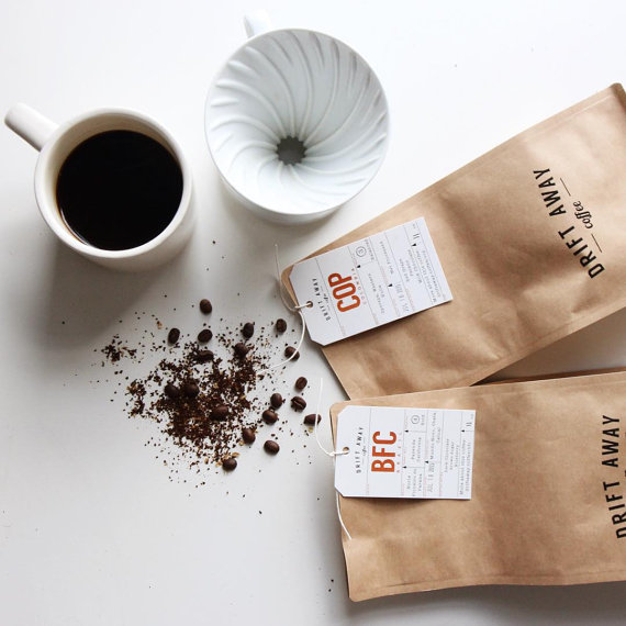 coffee subscription gift by DriftawayCoffee