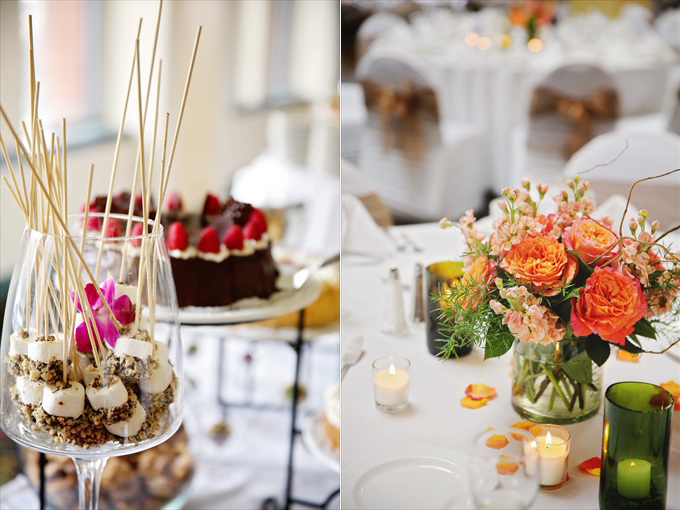 detroit_wedding_reception_food_dessert_table_setting Downtown Detroit Wedding - https://emmalinebride.com/real-weddings/a-beautiful-downtown-detroit-wedding-nick-jeannine/ | Michigan wedding photographer - The Camera Chick
