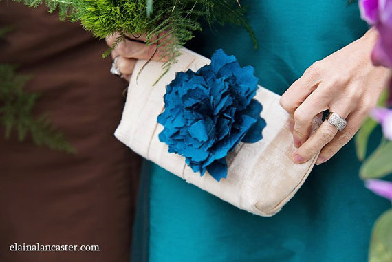flower clutch | unique gifts for mom