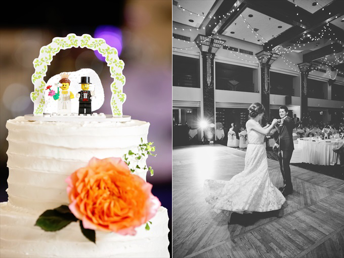 lego_wedding_cake_topper_buy Downtown Detroit Wedding - https://emmalinebride.com/real-weddings/a-beautiful-downtown-detroit-wedding-nick-jeannine/ | Michigan wedding photographer - The Camera Chick