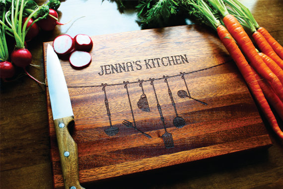 personalized cutting board for mom by SugarTreeGallery | unique gifts for mom