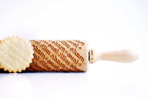 personalized rolling pin by valekrollingpins | unique gifts for mom