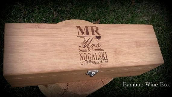 Wedding Wine Box https://emmalinebride.com/2016-giveaway/wedding-wine-box
