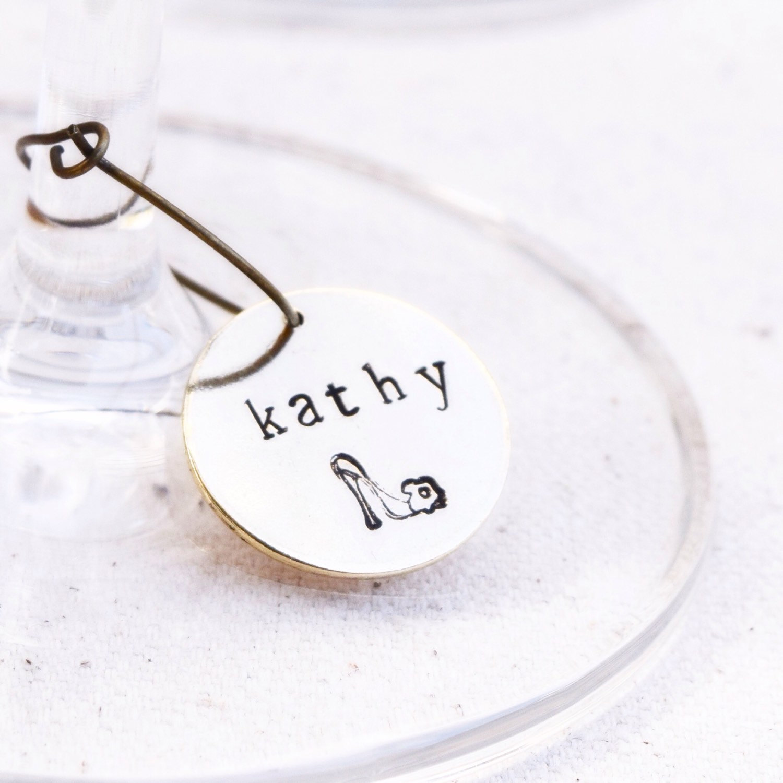bachelorette wine charm favor | wine charms favors http://emmalinebride.com/favors/wine-charms-favors