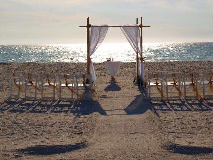 bamboo wedding arch by beachweddingsupply | Where to Buy Wedding Arches | https://emmalinebride.com/ceremony/arches-weddings/