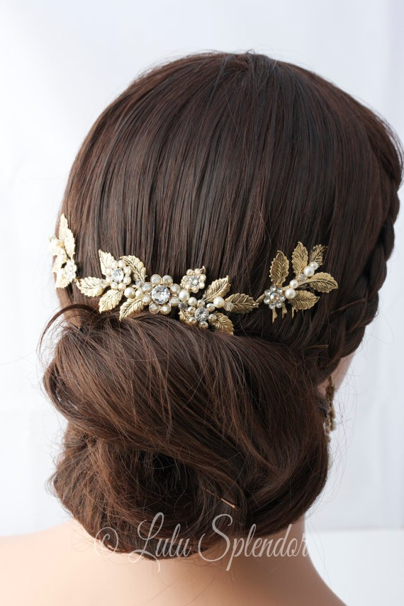 50+ Best Bridal Hairstyles Without Veil | http://emmalinebride.com/bride/best-bridal-hairstyles