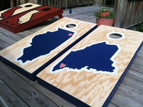 state themed cornhole boards