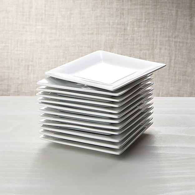 boxed appetizer plates | 9 Things I Wish Had Registered For | https://emmalinebride.com/planning/9-things-wish-had-registered-for/