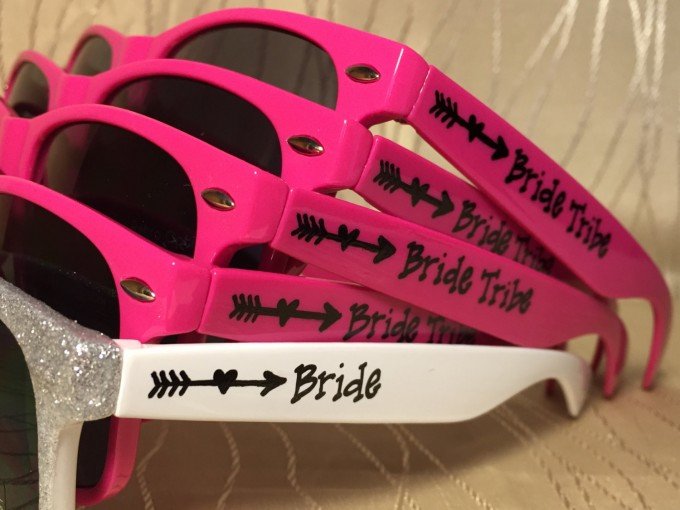 bride tribe sunglasses for bachelorette party