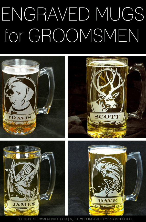 engraved mugs for groomsmen