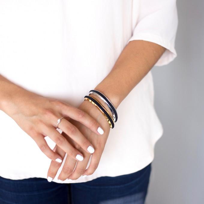 hair tie bracelets set | https://emmalinebride.com/gifts/hair-tie-bracelets/