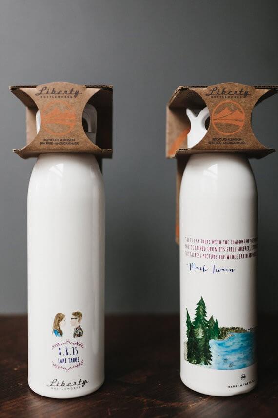 lake tahoe water bottles