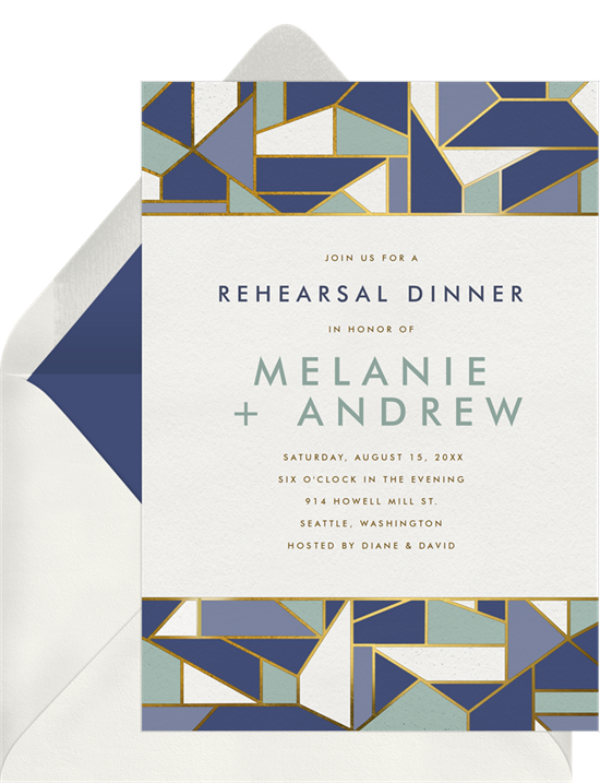 who to invite to the rehearsal dinner