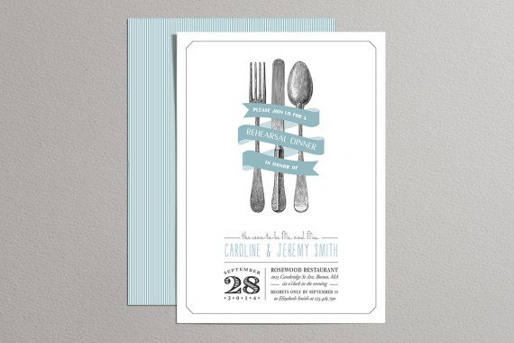 rehearsal dinner invitations by plpapers | should you send rehearsal dinner invitations? find out: http://emmalinebride.com/rehearsal/should-you-send-rehearsal-dinner-invitations/
