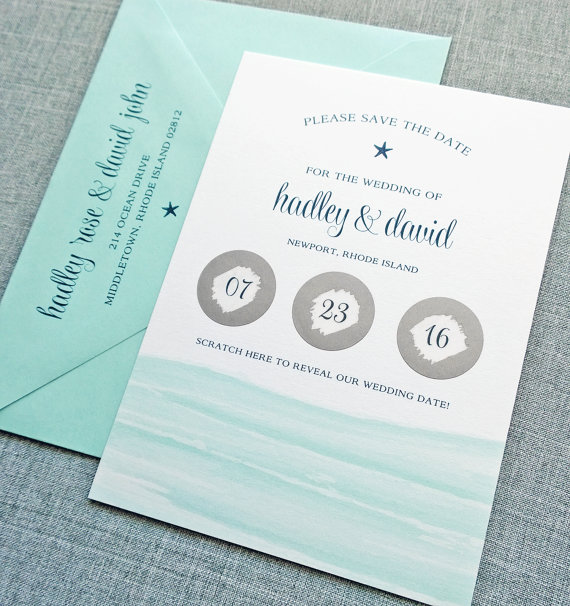 scratch off save the date card