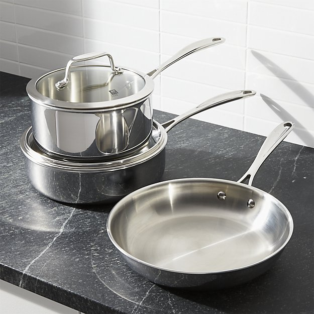 stainless steel cookware | 9 Things I Wish Had Registered For | https://emmalinebride.com/planning/9-things-wish-had-registered-for/