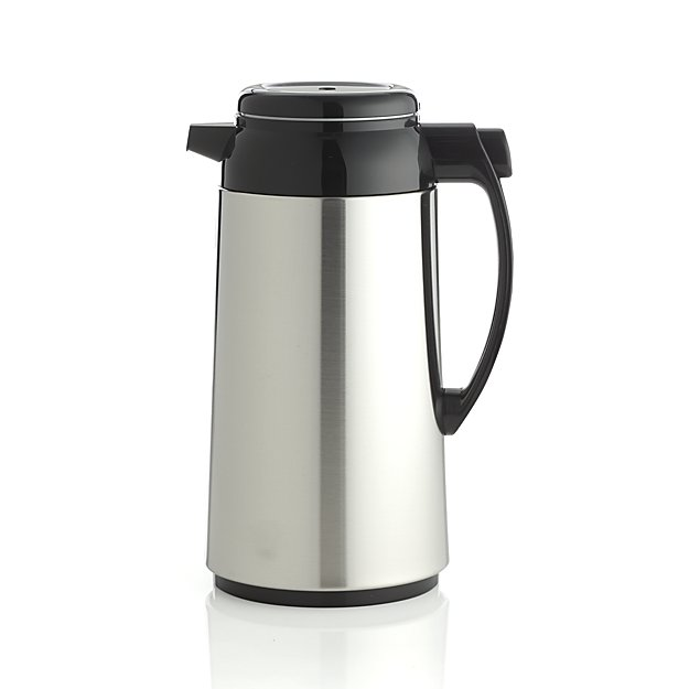 thermal coffee carafe | 9 Things I Wish Had Registered For | https://emmalinebride.com/planning/9-things-wish-had-registered-for/