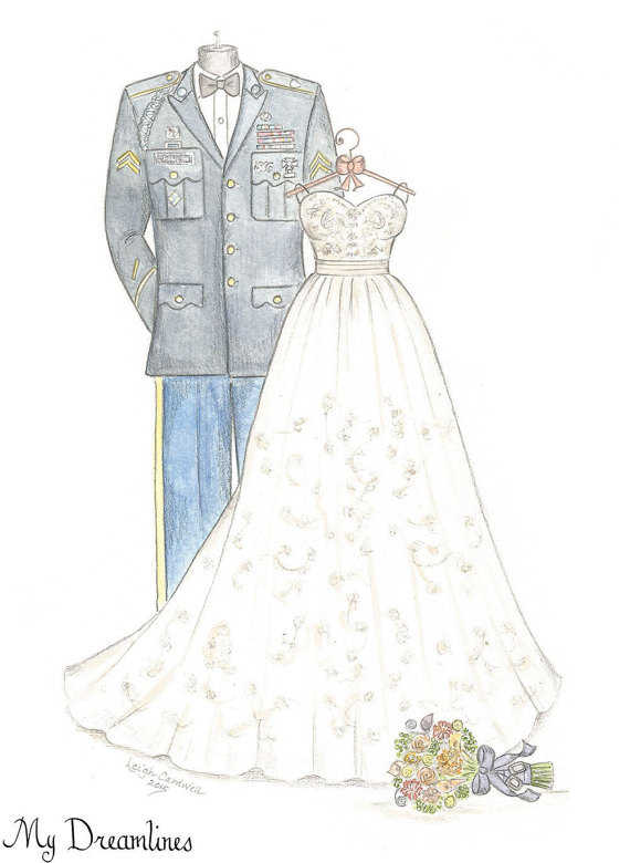 wedding sketch art