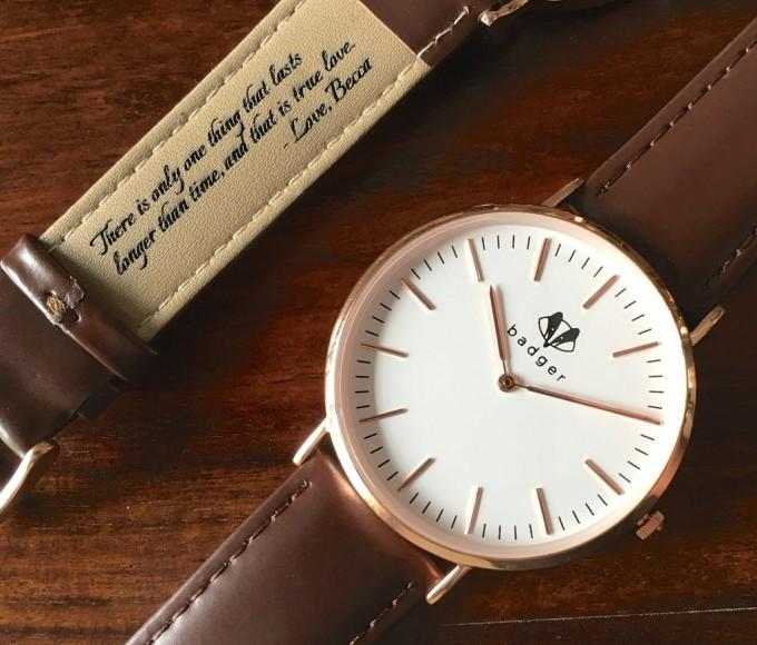 secret note watch | secret note groom's watch