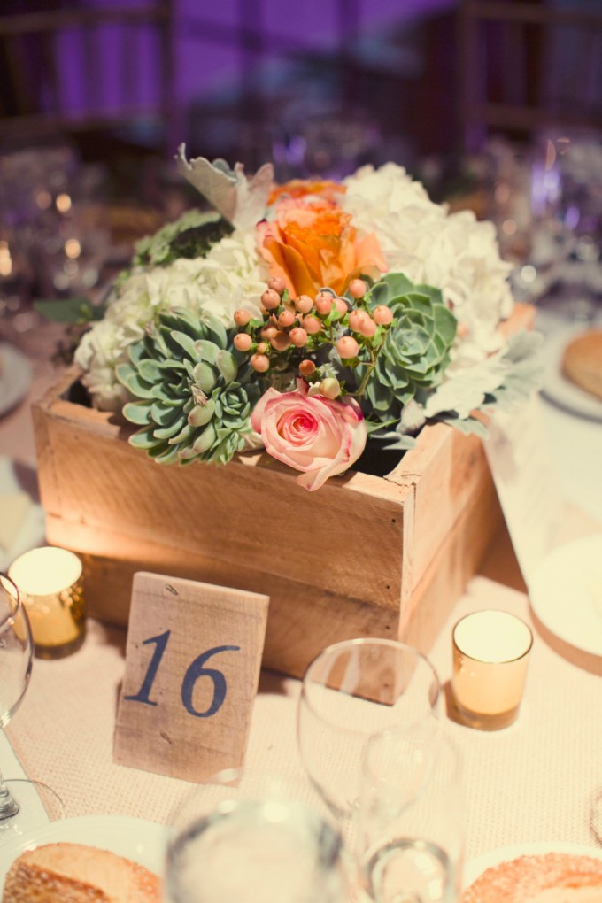 wood centerpiece box by ProjectRefurb - wood centerpieces for wedding