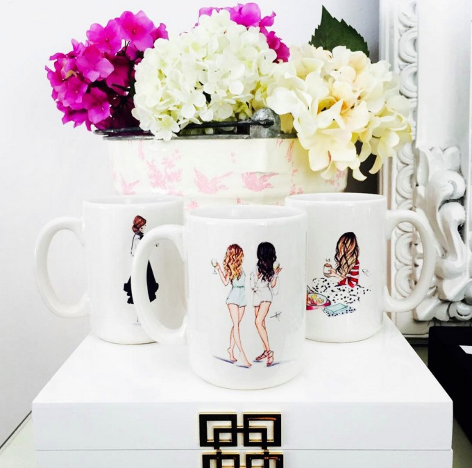 Print for Bridesmaid Mugs by Melsy's Illustrations | http://etsy.me/2c6lKsS