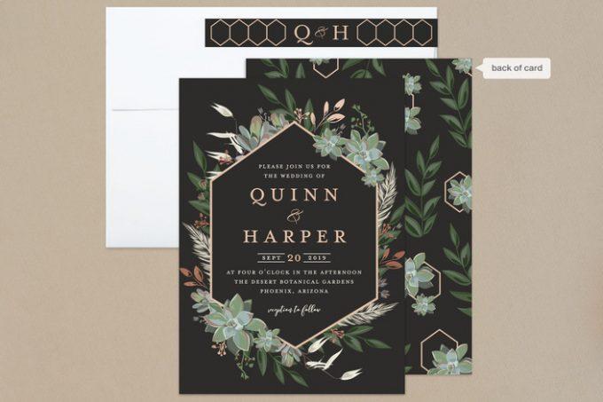 best custom wedding invitations