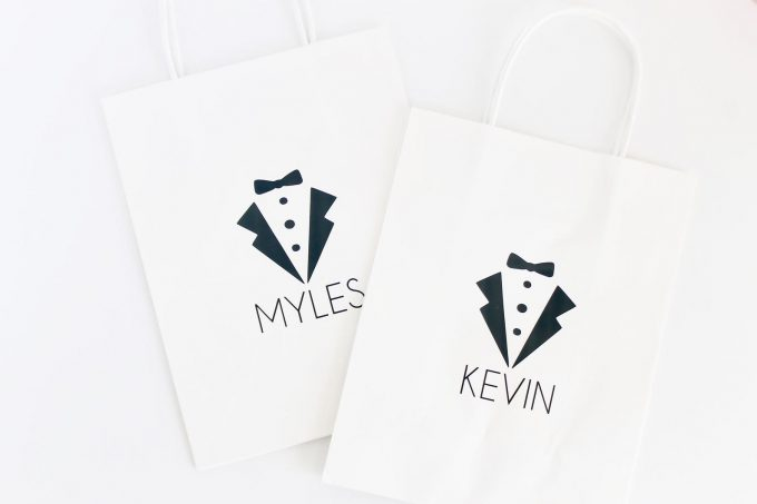 gift bag - when should you give bridesmaids their gifts