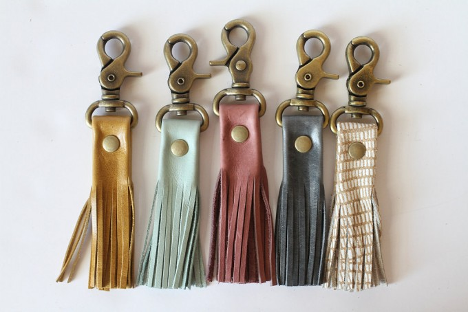 leather-tassel-keychains