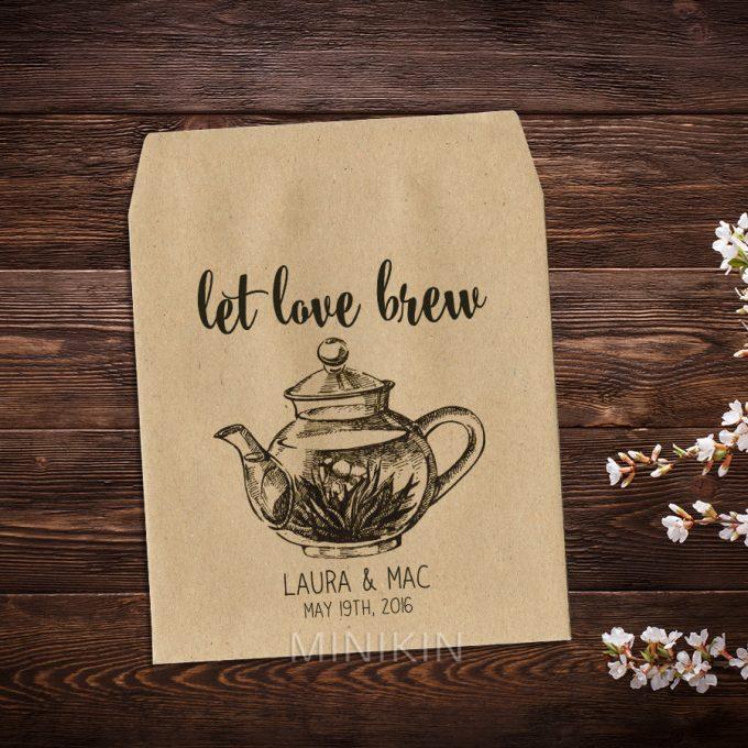 Tea Wedding Favors:  The Ultimate Guide | via https://emmalinebride.com/favors/tea-wedding-favors/