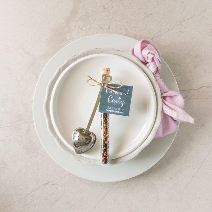 Tea Wedding Favors:  The Ultimate Guide | via https://emmalinebride.com/favors/tea-wedding-favors
