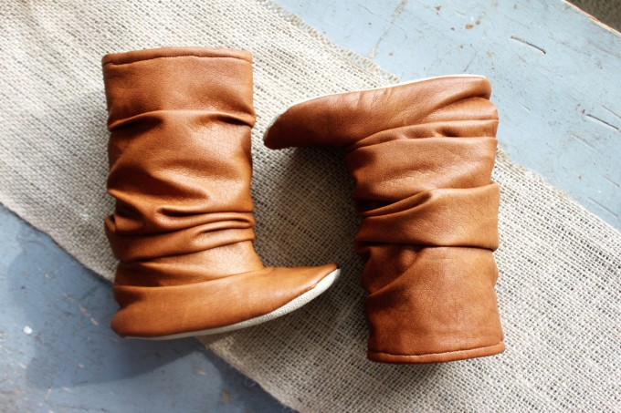 Boots for Flower Girls | By Bitsy Blossom | http://etsy.me/2cCcFYj