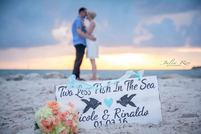 Two Less Fish in the Sea Sign - by iDecor4You | https://emmalinebride.com/2016-giveaway/two-less-fish-in-the-sea-sign/