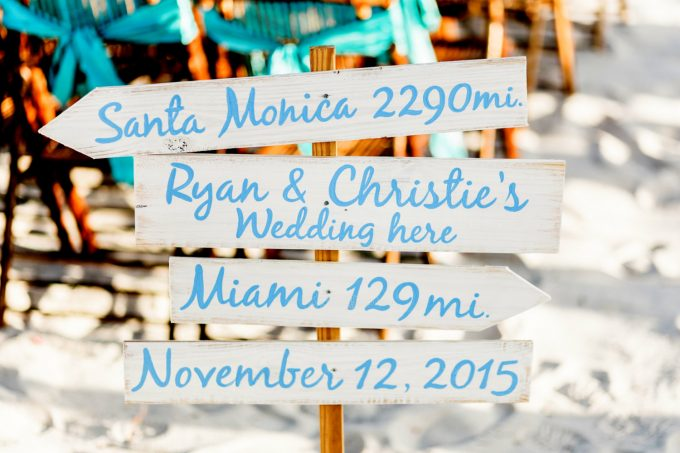 Directional Signs for Weddings | by iDecor4you | via Emmaline Bride - https://emmalinebride.com/wedding/directional-signs-weddings/