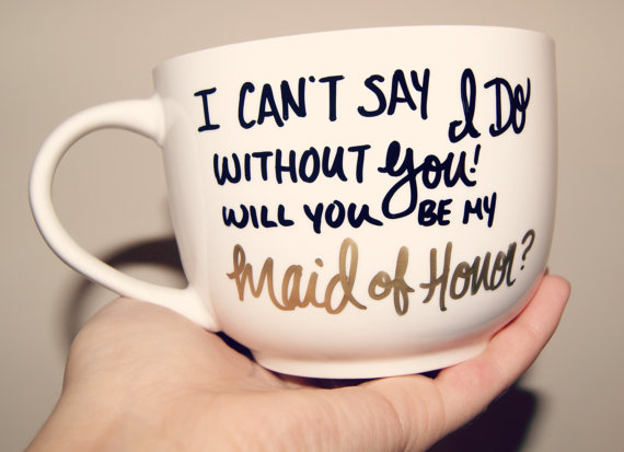 Cant Say I Do Without You Mug by Sugar and Snow Co. | http://emmalinebride.com/wedding/cant-say-i-do-without-you-mug/