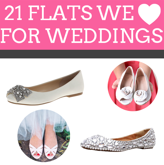 21 Wedding Flats for the Bride | http://emmalinebride.com/bride/wedding-flats-bride/