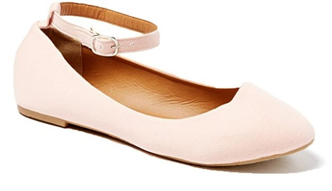 Flats with Ankle Strap | 21 Wedding Flats That Will Look Beautiful for the Bride - http://emmalinebride.com/bride/wedding-flats-bride/