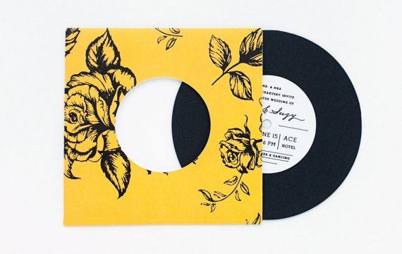 floral-pattern-record-wedding-invitations